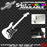 Fender Guitar Custom Vinyl sticker Laptop Car Window Gibson Stratocaster ESP Epi