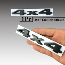 3D 4x4 Black Car Emblem Badge Sticker Logo Decal For Jeep Wrangler JK 2007-2015