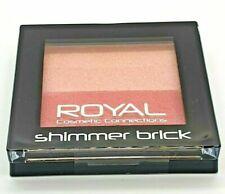 Royal Shimmering Blusher Brick Stripy Blush & Highlighter Contour Pink Shimmer