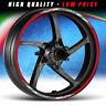 Adesivi moto DUCATI PERFORMANCE - strisce RACING11 cerchi ruote stickers wheels