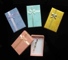 24 New Lots Wholesale Jewelry Ring Earring Watch Small Large Gift Box 5*8*2.5CM