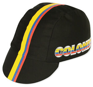 COLOMBIA NATIONAL TEAM Cycling Cap New Bike Ride Hat Free Shipping !!