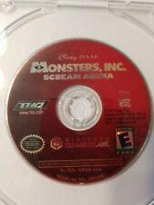 DISNEY MONSTERS INC SCREAM ARENA - ( Nintendo Gamecube, 2002 ) Video Game Disc
