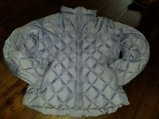 Columbia Women's Medium Light Purple Puffer Coat Jacket Quilted Core Interchange