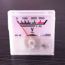 220V Analog Voltage Panel Meter AC 0-300V voltmeter Guage 1PCS