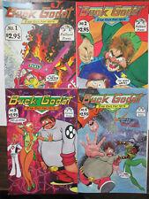 Buck Godot Zap Gun for Hire #1-4 (Palliard Press 1993) Phil Foglio SciFi Tales!