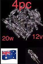 4pcs G4 12v 20W Tungsten Halogen Clear Bulb Lamb Light Bulb Clear Bi-pin 🇦🇺
