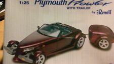 REVELL PLYMOUTH PROWLER WITH TRAILER FACTORY SEALED