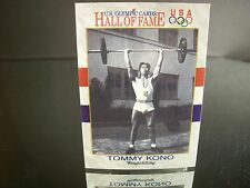 Rare Tommy Kono U.S. Olympic Impel  1991 Card #48 HALL OF FAME Weightlifting