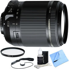 Tamron 18-200mm Di II VC All-In-One Zoom Lens for Nikon Mount + UV Filter Bundle