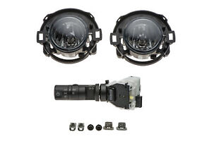 Nissan Frontier Xterra Front Bumper Fog Light Lamp & Switch Kit OEM 999F1KV000