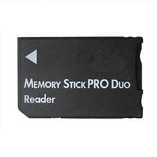 Memory Stick Pro Duo SDHC TF Card Reader For PSP 1000 2000 3000 Dual Adapter New