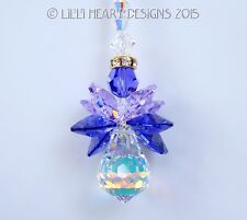m/w Swarovski *ANGEL OF THE FAIRIES* Rare Purple SunCatcher Lilli Heart Designs