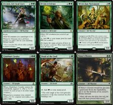 Elf (Mono Green) Deck -  Dwynen - Wren's Run - MTG - Magic Gathering - 60 Cards