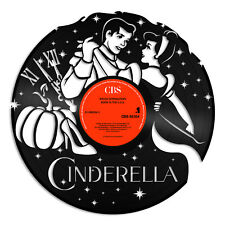 Cinderella Vinyl Wall Art Record Cartoon Unique Art Design Home Decoration