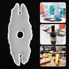 Silicone Wine Glass Holder Resin Casting Mold Cup Coaster Epoxy Mould Tool DIY