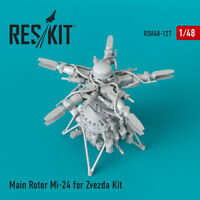 Main Rotor Mi-24 for Zvezda Kit (Resin Upgrade set) 1/48 ResKit RSU48-0127