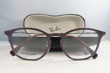 fe6e1e2454 Ray-Ban Burgundy Glasses New with case RB 8954 8031 50mm