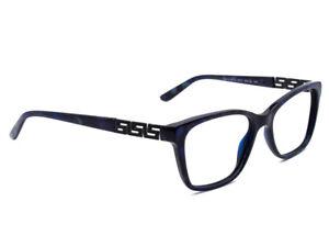Versace Women's Eyeglasses MOD. 3192-B 5127 Blue Marble Frame Italy 52[]16 140