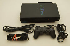 Sony PlayStation 2 PS2 Fat Complete System SCPH-39001 with Network Adapter