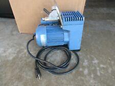 Vacuubrand Me 2si Diaphragm Vacuum Pump Works Well 115 Volt