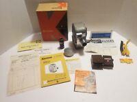 Vintage Keystone Precision Built 8mm Movie Camera K-25 Capri With Box And Extras