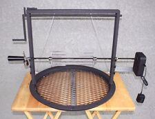 Weber grill accessories adjustable grate (santa maria style and rotisserie kit )