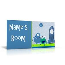 PERSONALISED DOOR SIGN / NAME PLAQUE - SPACE DREAMER SPACESHIP BOYS FREE P&P