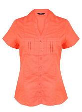 Linen V Neck Singlepack Tops & Shirts for Women