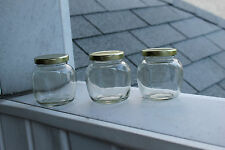 12pk 212ml Canning Jar (Small, Mini, Jelly) + Gold or Green Lids