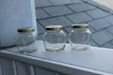 12pk 212ml Canning Jar (Small, Mini, Jelly) + Gold or Green Lids
