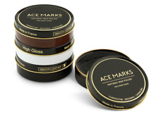 Ace Marks Pate de Luxe Shoe Polish Wax All Natural High Gloss France- 4 Colors