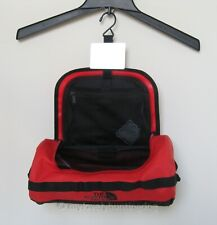 NWT The North Face Base Camp Travel Canister - L Red Black Toiletry Bag Case