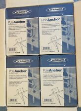 4 Lot Werner SPJ-PA-4 SPJ Pole Anchor for Use with Scaffolding