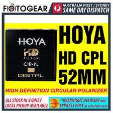 Genuine HOYA HD High Definition Density Circular Polarizer CPL 52mm EXPRESS POST