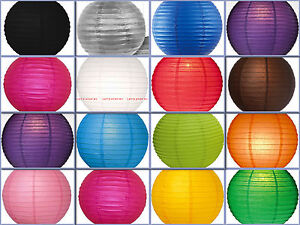"""12X round Chinese paper lanterns lamp 12"""" Wedding Party Floral Event decoration"""
