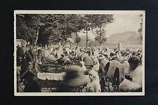 Carte postale ancienne CPA animée LOURDES - Communion des malades à la Grotte