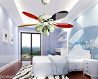 42 Inches 3 Lights Diameter 106CM Rope Control Children's Ceiling Fans Light
