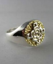 Solid silver. Beautiful Rosicrucian ring - 2437-R