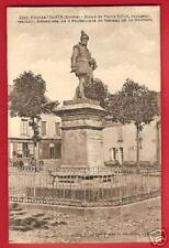 CPA postcard Statue Pierre Belon CERANS FOULLETOURTE né La Soultière 72 Sarthe R