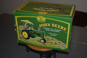 "John Deere Styled ""A"" Tractor with Umbrella ERTL 98912 1:16 Scale Model NIB"