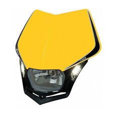 MASCHERINA PORTAFARO RACETECH V-FACE LED GIALLA (Yellow Headlight) R-MASKGINR009