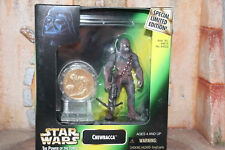 Chewbacca Millennium Minted Coin Star Wars Power Of The Force 2 1998 Box