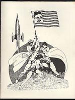 American Nostalgia Convention (1976) Program 1st Print 7 Autographs No COA FINE