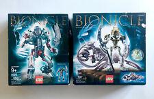 New LEGO Bionicle Takutanuva 3287 (10201) - Makuta and Takanuva (8293 + 8596)