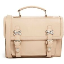ASOS Pale Pink Satchel with Cross Metal Keepers