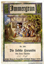 La carissima amica V. Dora Schlatter 1915