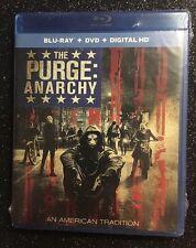 Purge: Anarchy, The  (Blu-ray/DVD/Digital HD, 2016; 2-Disc Set ) NEW