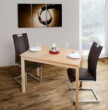Esstisch Küchentisch Beistelltisch Esszimmer 110x75cm Kernbuche massiv 99-5