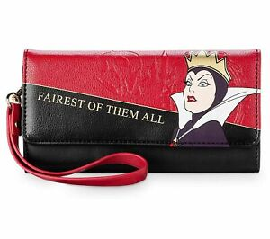 NWT Disney Evil Queen Wallet-Snow White and the Seven Dwarfs Last One!